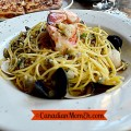 Mont Tremblant, seafood, best seafood pasta in mont tremblant, quebec, canada, tourism, canadianmomeh