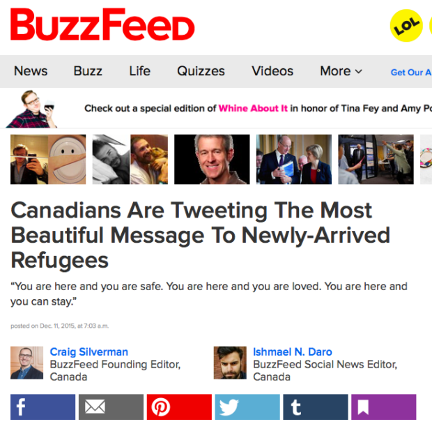 BuzzFeed Syrian Refugees