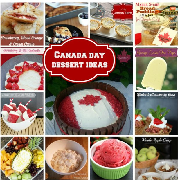 canada day, canada day menu, canada day desserts, desserts, top desserts, canadianmomeh, recipes, best recipes ever, red and white desserts