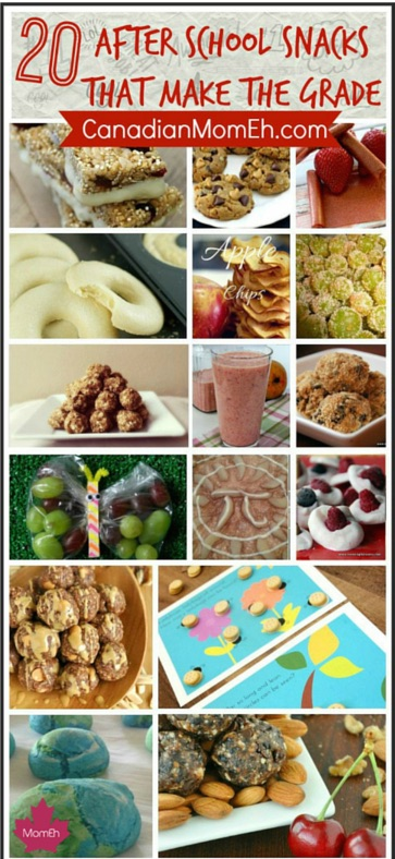 after school snack roundup, canadianmomeh, after school, snacks, pinterest