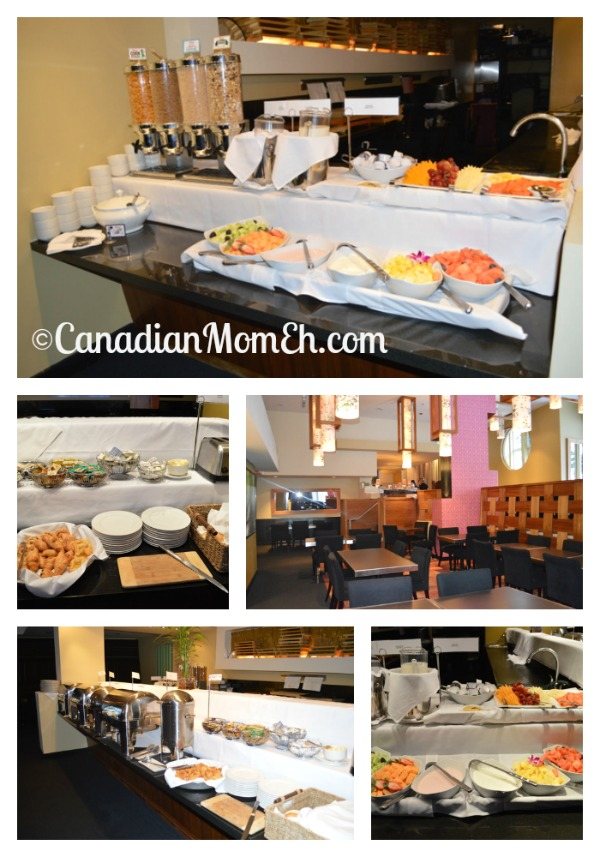 buffet breakfast, westin mont tremblant, westin, where to stay in mont tremblant, travelling with kids, family travel, canadianmomeh