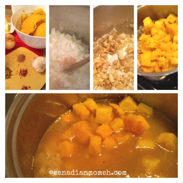 how do you make pumpkin soup, what do you do with pumpkin, pumpkin recipe, fall soup idea, canadianmomeh, jennell dukovac