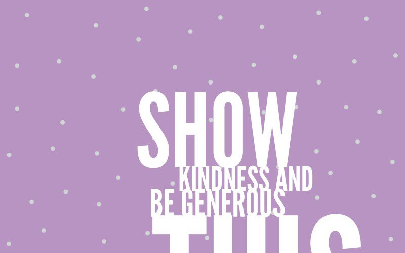 kindnessgenerosity