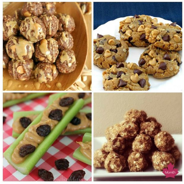 after school snack roundup, canadianmomeh, after school, snacks, pinterest, peanut butter snack, peanut butter, what to do with peanut butter