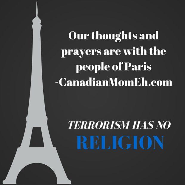 terrorism has no religion, paris attacks, paris, islam, terrorism