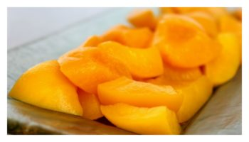 california-cling-peaches-collage